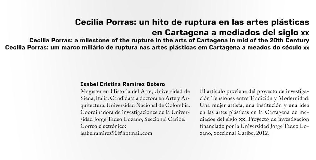 Cecilia Porras