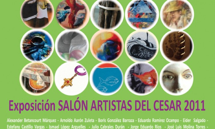 catalogo artistas del cesar2011