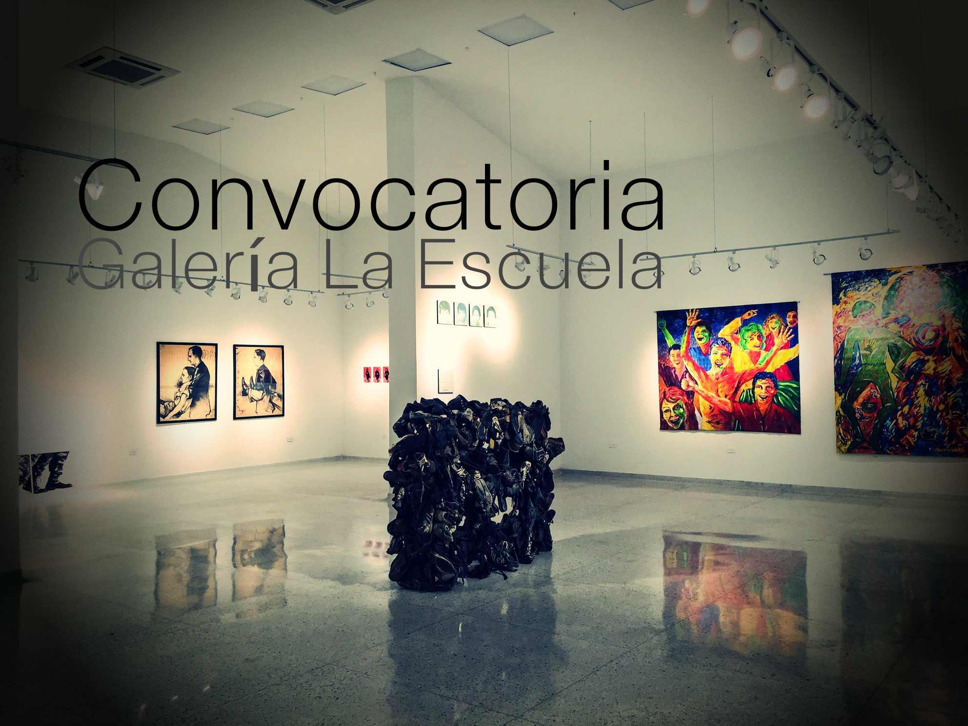 Galería La Escuela de Barranquilla, abre convocatoria para recibir ...