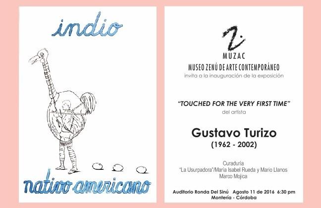 MUZAC - TARJETA Gustavo Turizo CURVAS